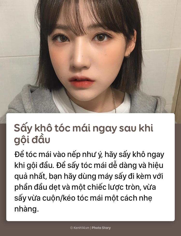 Học thuộc những tips sau để có phần tóc mái đẹp như gái Hàn - Ảnh 2