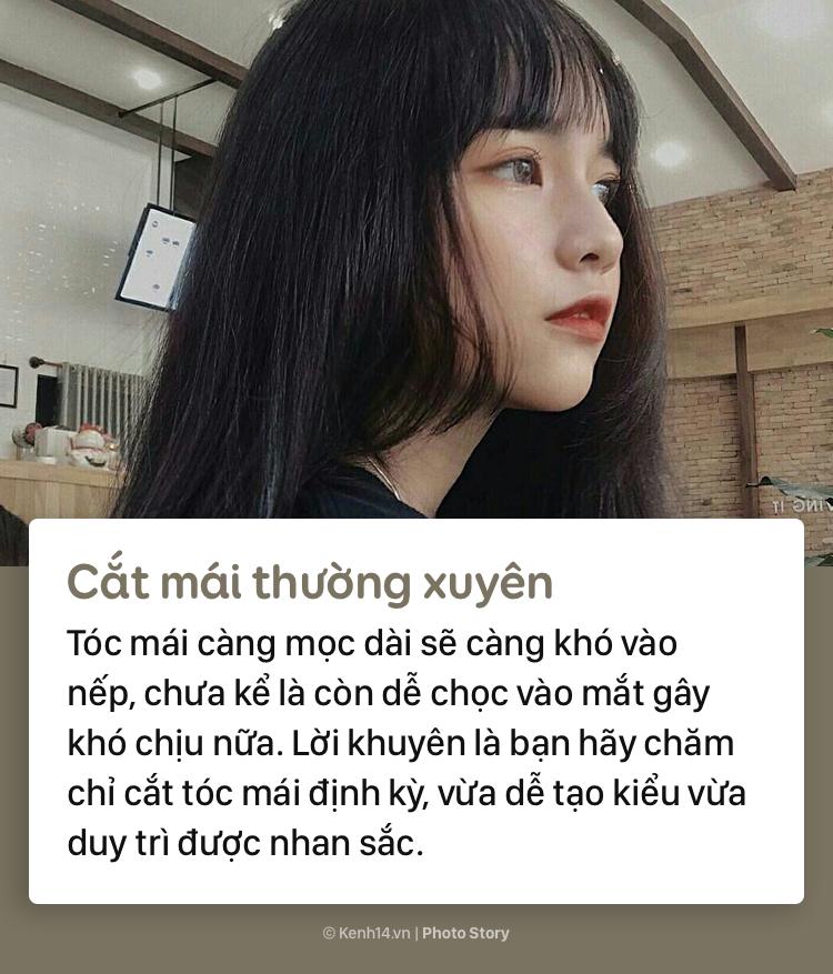 Học thuộc những tips sau để có phần tóc mái đẹp như gái Hàn - Ảnh 3