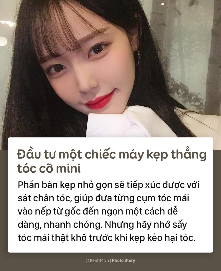 Học thuộc những tips sau để có phần tóc mái đẹp như gái Hàn - Ảnh 5