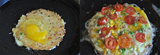 Chẳng cần lò nướng và dùng cơm nguội tôi vẫn làm được pizza cơm giòn ngon tuyệt đối - Ảnh 3