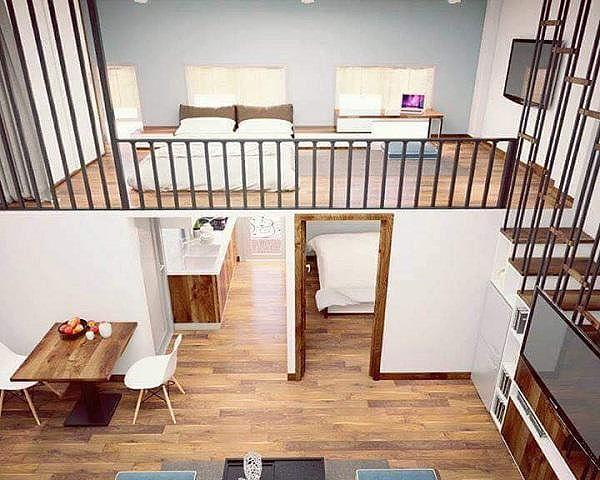 Nhà gác lửng, giải pháp cho đất hẹp và chi phí tiết kiệm - Ảnh 5