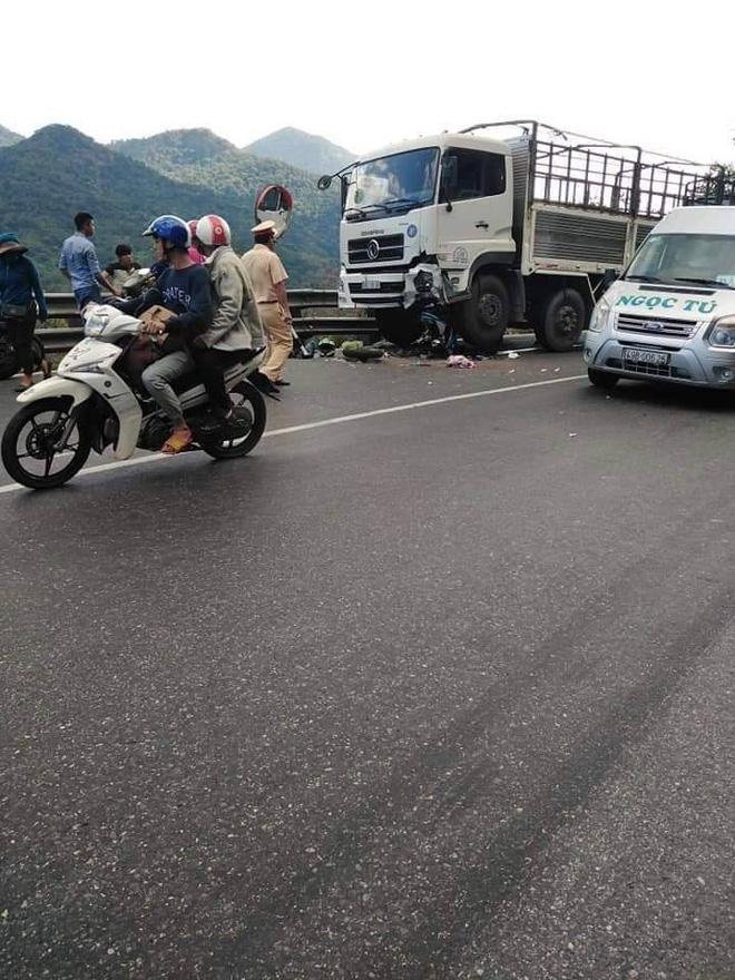 Tin mới nhất về phượt thủ gặp nạn trên đèo Bảo Lộc, cả người lẫn xe dính dưới bánh xe tải - Ảnh 1