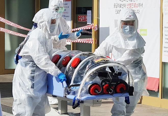 Hàn Quốc phát hiện 204 ca nhiễm virus corona, giá bán khẩu trang tăng chóng mặt lên đến khoảng 3 triệu/hộp - Ảnh 1
