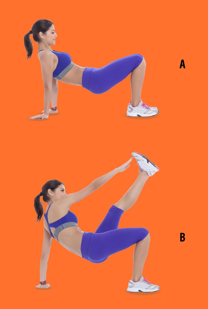 9 bài tập thể hình giúp mông chảy xệ trở nên săn chắc, đùi ngấn mỡ cũng thon gọn cực nhanh - Ảnh 8