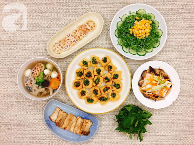 9x Hà Nội nấu thực đơn Eat Clean ngon đẹp xuất sắc chỉ ngắm đã mê - Ảnh 1