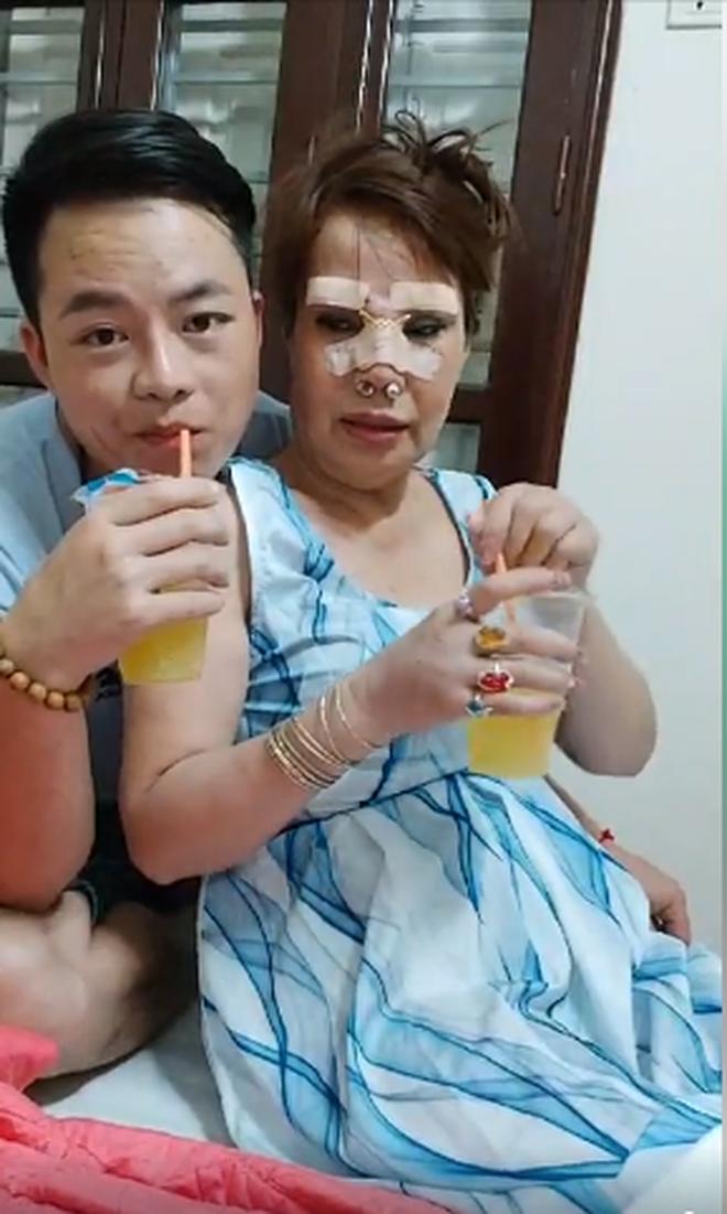 'Cô dâu 62 tuổi' chơi lớn chi 50 triệu đồng nâng mũi, sửa lông mày để tân trang nhan sắc - Ảnh 3