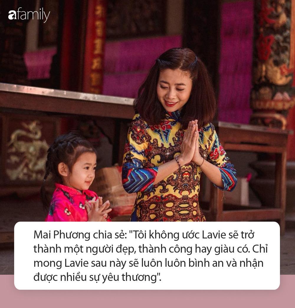 Trước khi qua đời, Mai Phương từng tiết lộ quan điểm nuôi dạy bé Lavie khiến nhiều người trào nước mắt - Ảnh 2