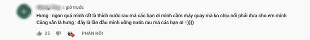 """Bà Tân tung video làm cốc rau má đậu xanh siêu to khổng lồ, nhưng thứ mà dân mạng chú ý nhất lại là một câu """"lỡ lời"""" của Hưng Vlog - Ảnh 11"""