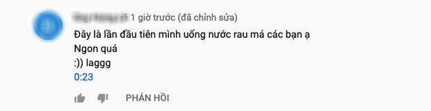 """Bà Tân tung video làm cốc rau má đậu xanh siêu to khổng lồ, nhưng thứ mà dân mạng chú ý nhất lại là một câu """"lỡ lời"""" của Hưng Vlog - Ảnh 14"""