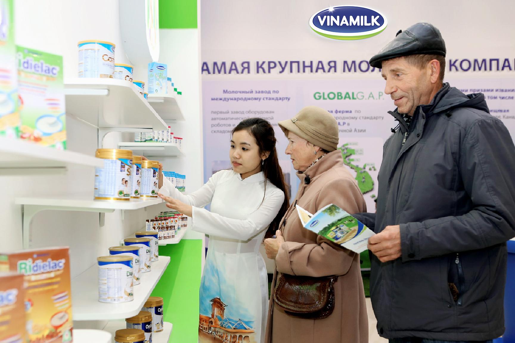 """Vinamilk – Doanh nghiệp sữa duy nhất của Việt Nam lọt danh sách """"Doanh nghiệp xuất khẩu uy tín"""" năm 2017 - Ảnh 1"""