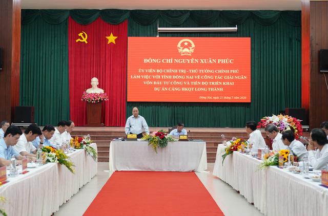 Thủ tướng làm việc với tỉnh Đồng Nai về tiến độ triển khai dự án sân bay Long Thành - Ảnh 2