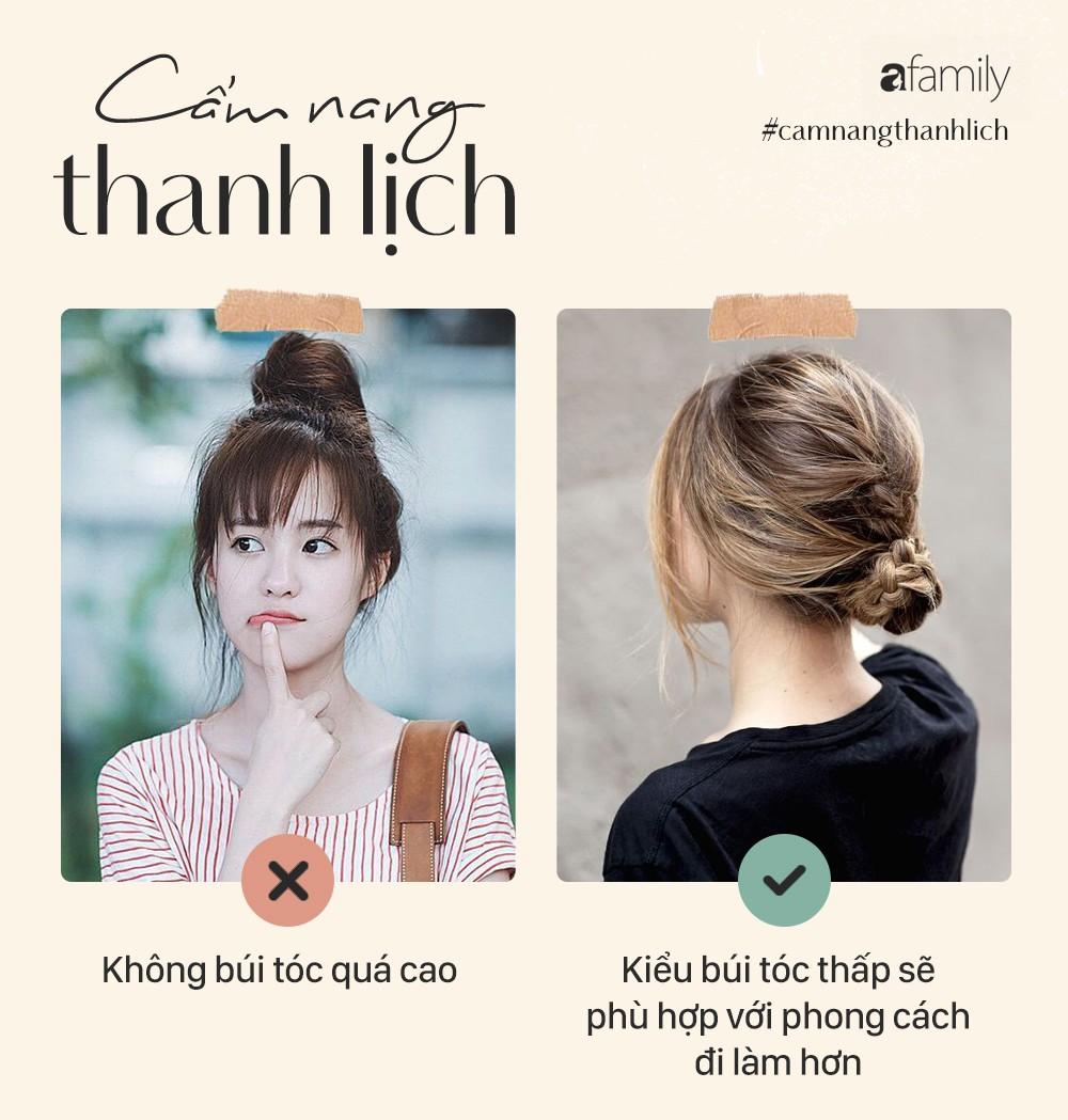 Bộ bí kíp để các nàng luôn có mái tóc thanh lịch khi đi làm mà không sợ bị kém sang - Ảnh 4