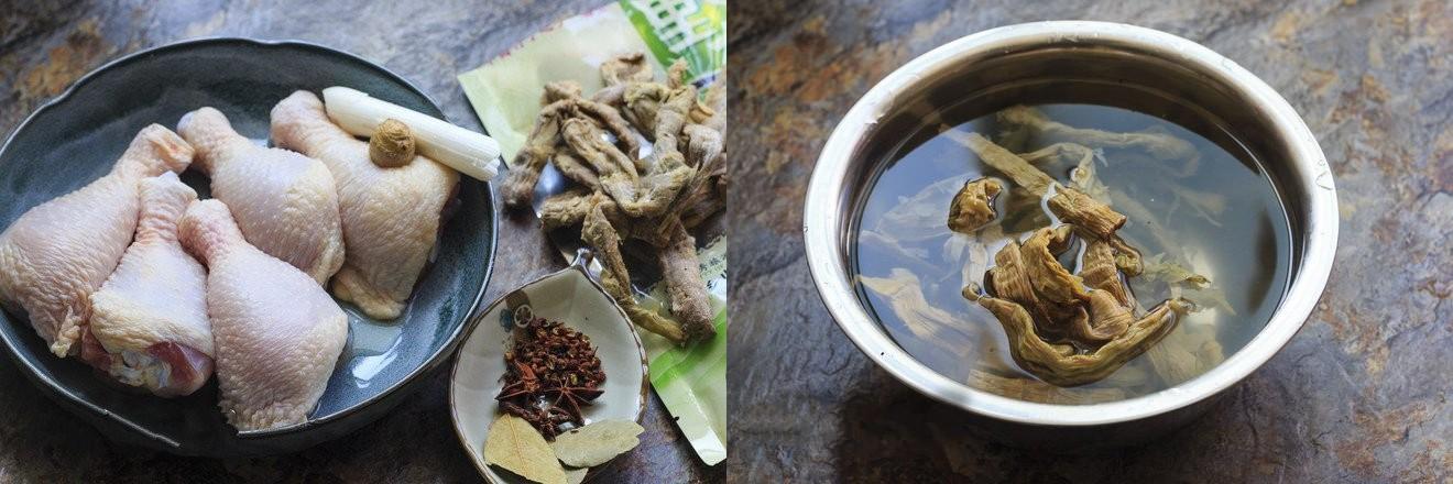 Gà kho măng - món ngon đậm đà dễ làm cho bữa tối - Ảnh 1