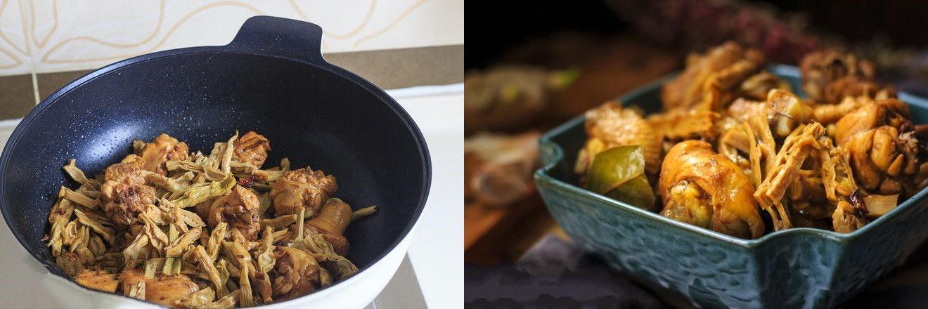 Gà kho măng - món ngon đậm đà dễ làm cho bữa tối - Ảnh 5