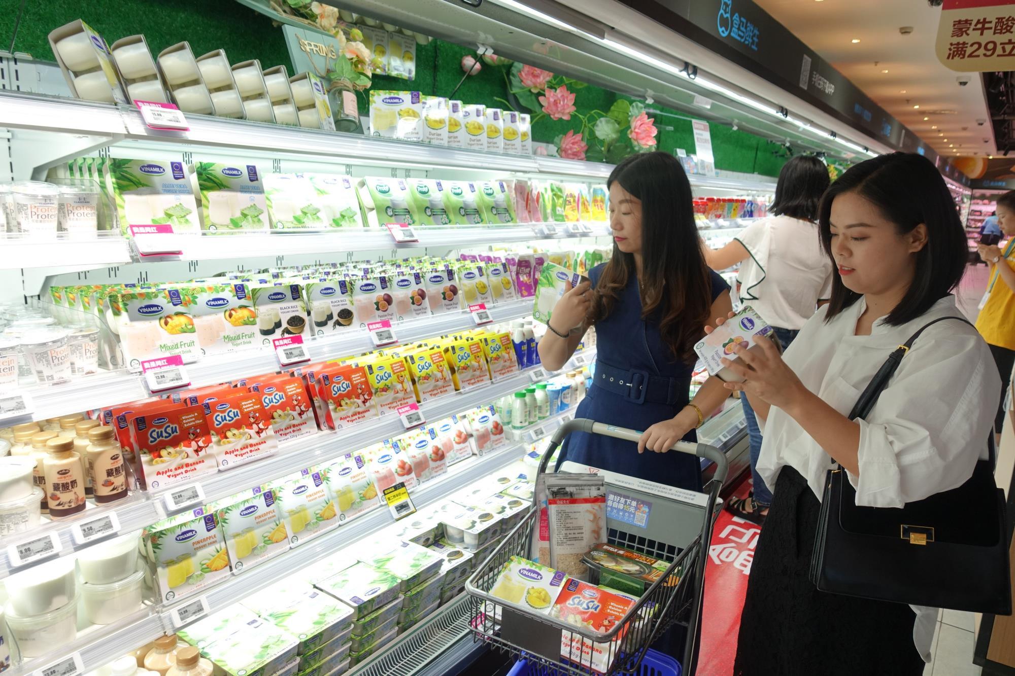 Giới thiệu sản phẩm Vinamilk tại Trung Quốc, ngành sữa Việt Nam tự tin mang chuông đi đánh xứ người - Ảnh 9