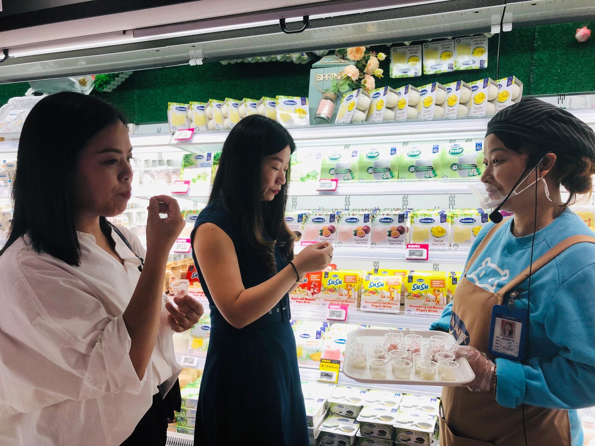 Giới thiệu sản phẩm Vinamilk tại Trung Quốc, ngành sữa Việt Nam tự tin mang chuông đi đánh xứ người - Ảnh 8