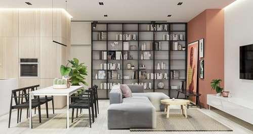 Chiêu thiết kế cực tiện nghi cho căn hộ siêu nhỏ - Ảnh 1