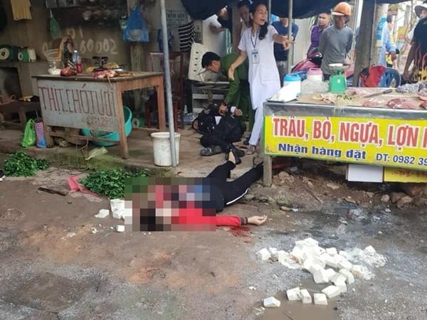 Nghi phạm bắn chết thiếu phụ giữa chợ vì bị khước từ tình cảm đã tử vong - Ảnh 1