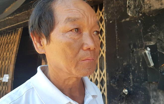 Xe bồn chở xăng cháy ở Bình Phước: 'Vợ con nó chết hết rồi' - Ảnh 2