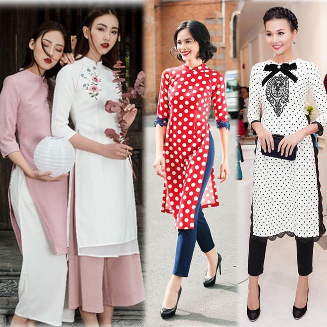 5 lưu ý quan trọng để mặc áo dài đẹp trong ngày Tết - Ảnh 2