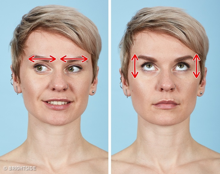 7 bài tập cho khuôn mặt làm nếp nhăn biến mất, làn da căng mịn giúp phụ nữ trẻ ra cả chục tuổi - Ảnh 2