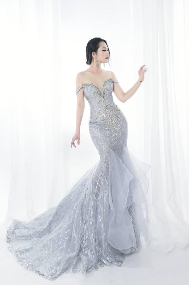 'Út Ráng' Kim Hiền tung ảnh cưới đẹp lung linh sau 5 năm kết hôn với chồng Việt kiều - Ảnh 3