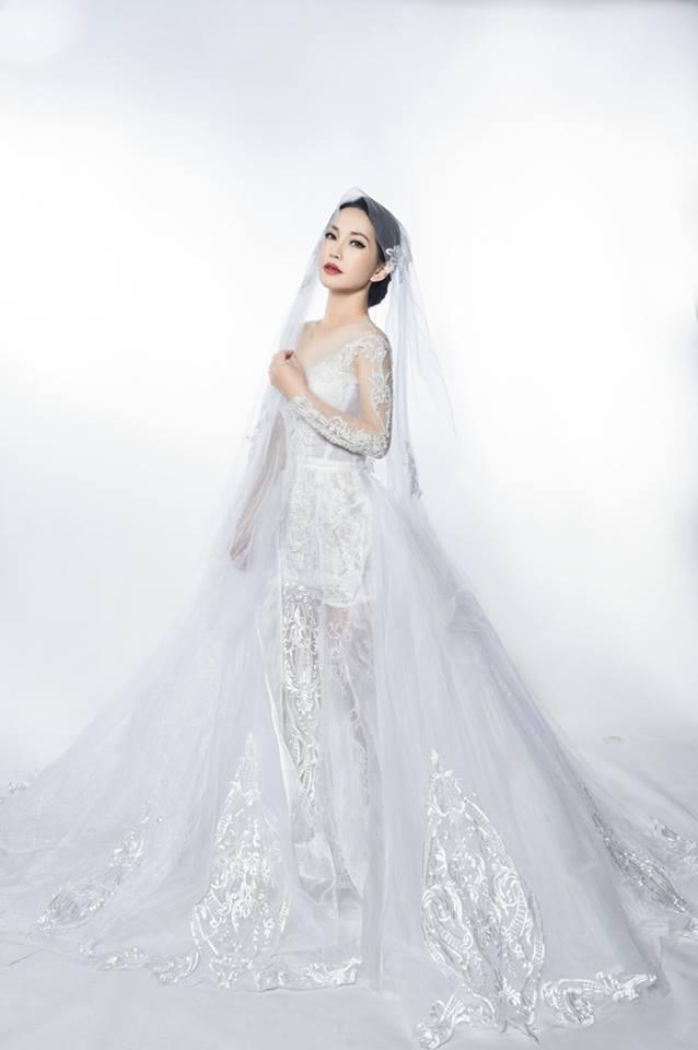 'Út Ráng' Kim Hiền tung ảnh cưới đẹp lung linh sau 5 năm kết hôn với chồng Việt kiều - Ảnh 4