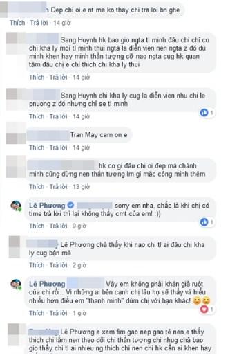 Đang bầu bì, Lê Phương không ngại đáp trả gay gắt khi bị chỉ trích chảnh chọe - Ảnh 2