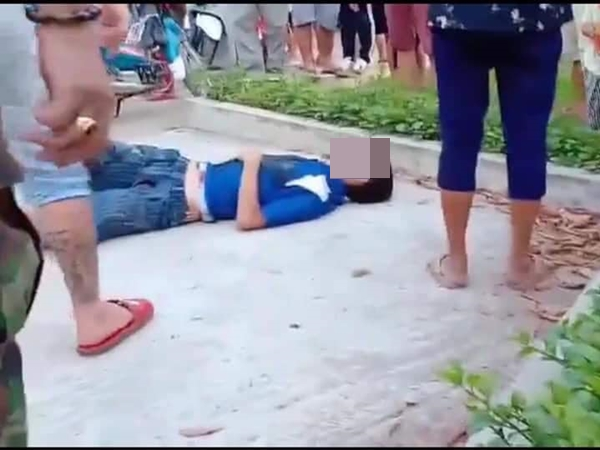 Chơi đùa với con trong công viên, cha bị đâm chết vì tưởng bắt cóc trẻ em - Ảnh 1