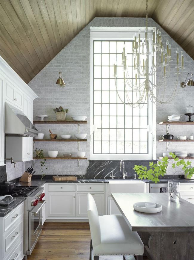 Nhà bếp trong mơ của nhiều người bởi đơn giản nhưng đẹp vượt thời gian - Ảnh 7
