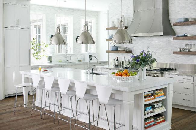 Nhà bếp trong mơ của nhiều người bởi đơn giản nhưng đẹp vượt thời gian - Ảnh 8