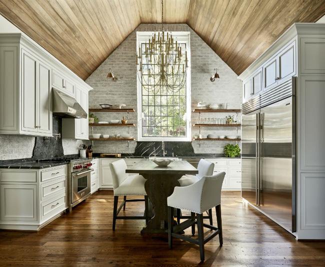 Nhà bếp trong mơ của nhiều người bởi đơn giản nhưng đẹp vượt thời gian - Ảnh 9