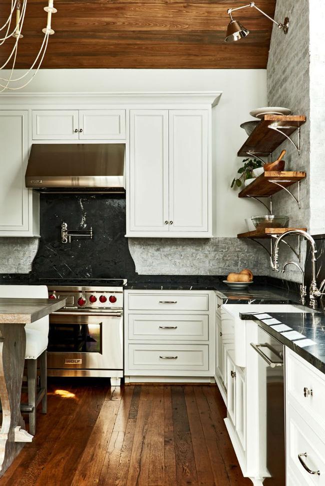 Nhà bếp trong mơ của nhiều người bởi đơn giản nhưng đẹp vượt thời gian - Ảnh 10