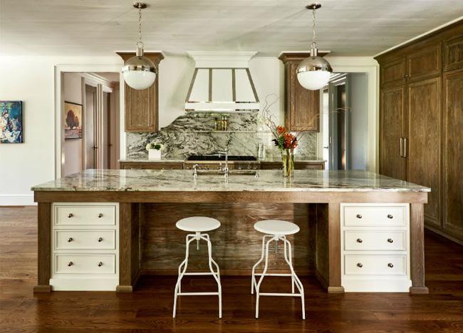 Nhà bếp trong mơ của nhiều người bởi đơn giản nhưng đẹp vượt thời gian - Ảnh 13