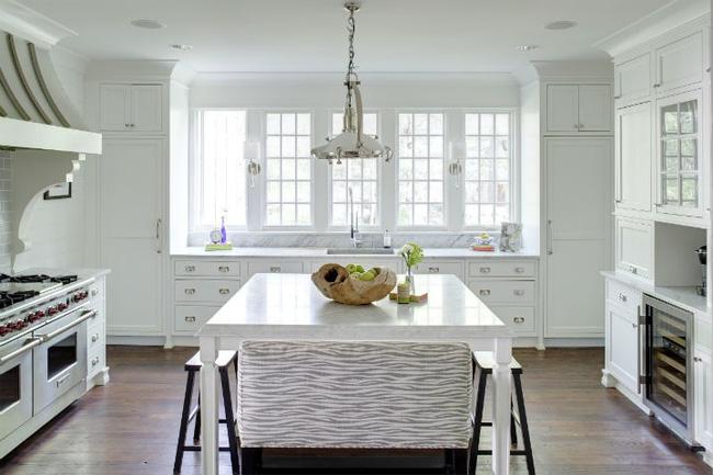 Nhà bếp trong mơ của nhiều người bởi đơn giản nhưng đẹp vượt thời gian - Ảnh 4