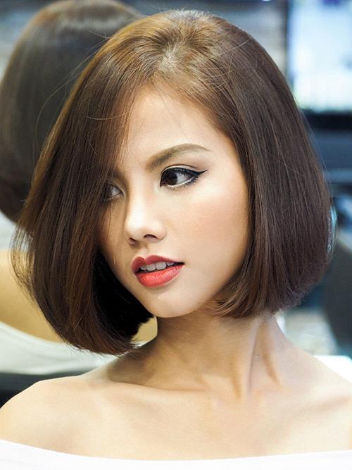Tóc bob: 'Hot-trend' mùa hè không kén khuôn mặt nào, tròn hay vuông cắt đều hợp và đẹp lung linh - Ảnh 9
