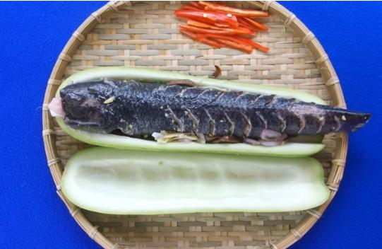 4 bước làm món cá lóc hấp bầu thơm ngon bổ dưỡng - Ảnh 2