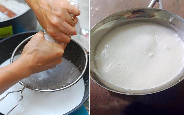 Cách làm nước cốt dừa ăn chè đậu đen cực ngon chỉ mất chưa đầy 5 phút - Ảnh 3