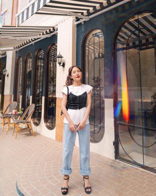 6 kiểu quần jeans hot nhất hè này, chị em muốn được khen ăn mặc sang xịn, trendy hãy update ngay - Ảnh 11