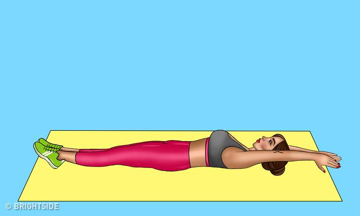 7 bài tập giúp bạn sở hữu chiếc bụng phẳng đáng mơ ước chỉ trong 30 ngày - Ảnh 7