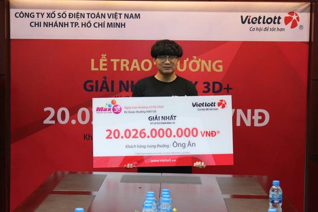 Nam sinh viên không đeo mặt nạ nhận độc đắc hơn 20 tỷ đồng tại Sài Gòn - Ảnh 2