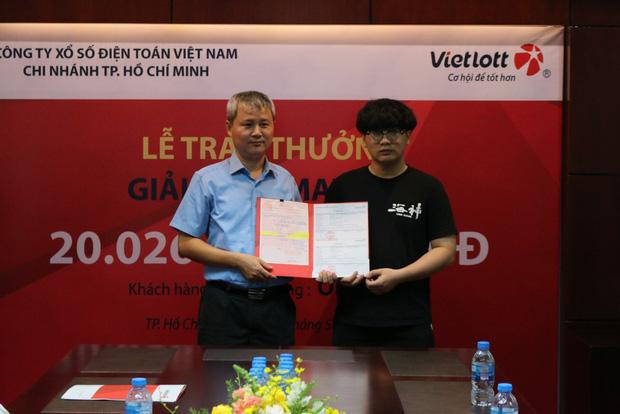 Nam sinh viên không đeo mặt nạ nhận độc đắc hơn 20 tỷ đồng tại Sài Gòn - Ảnh 3