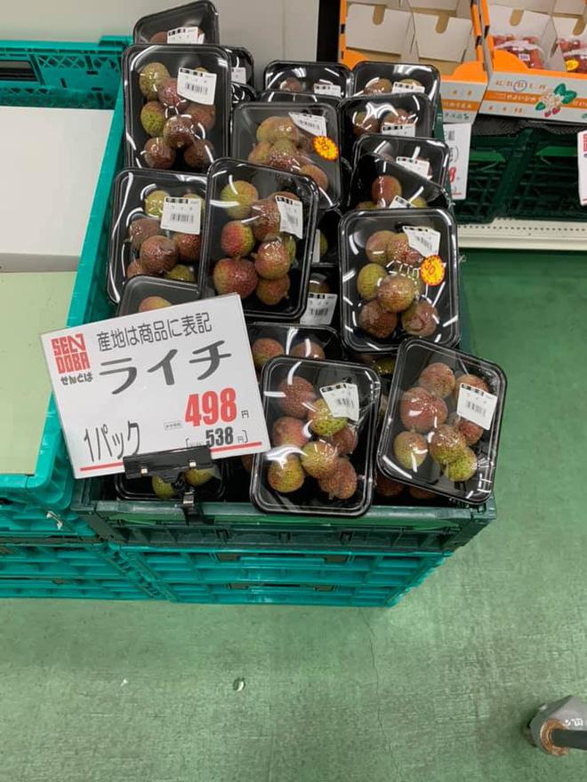 Dân mạng Việt khoe những trái vải bán trong siêu thị Nhật, 120k được mỗi 7 quả mà vẫn 'cháy hàng' - Ảnh 5