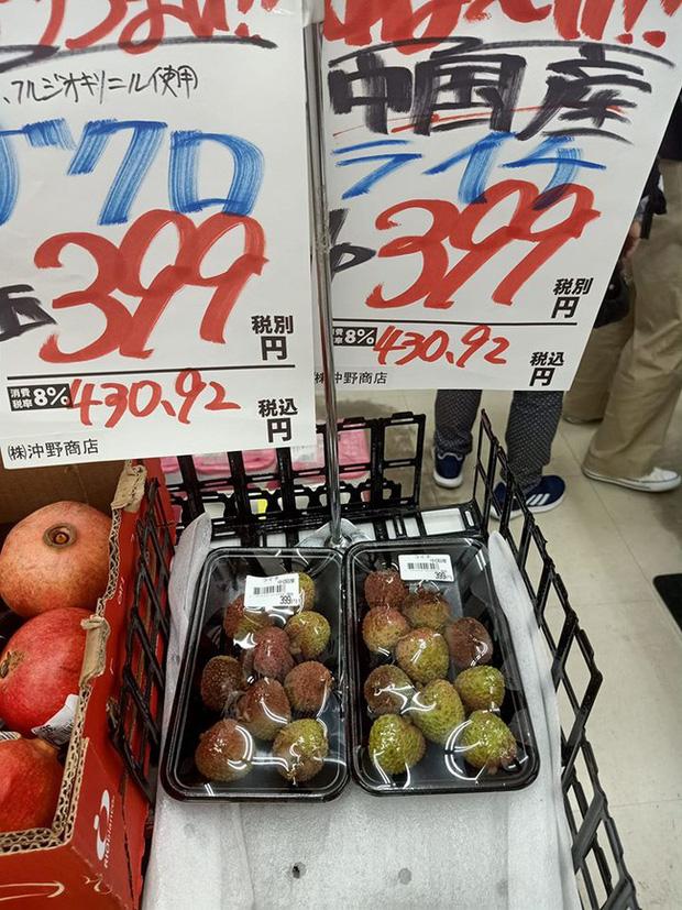 Dân mạng Việt khoe những trái vải bán trong siêu thị Nhật, 120k được mỗi 7 quả mà vẫn 'cháy hàng' - Ảnh 6
