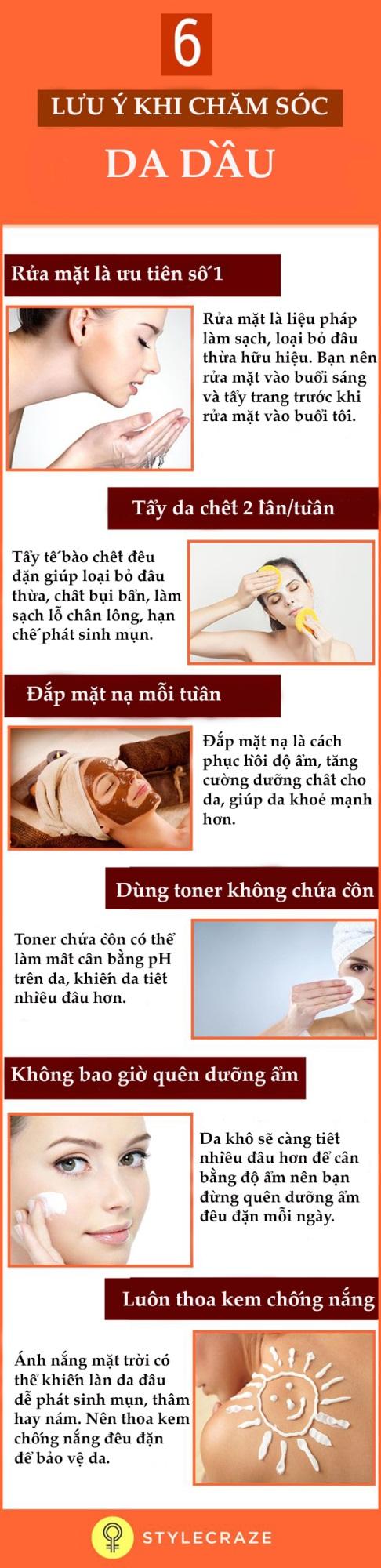 6 mẹo bỏ túi giúp chăm sóc da dầu đúng cách, ngăn ngừa mụn - Ảnh 1