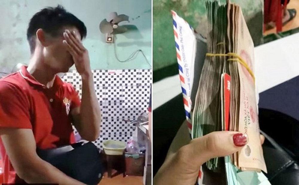 Chàng trai òa khóc khi được trả 200 triệu đồng bỏ quên trong quán ăn - Ảnh 3
