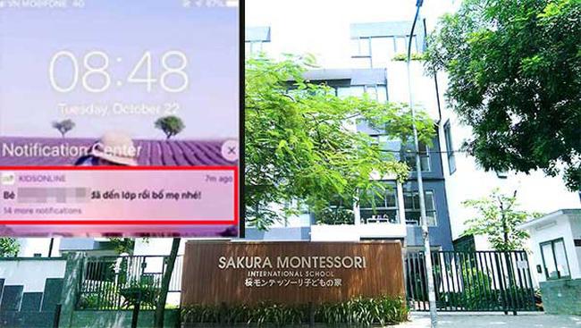 Đang ngồi ăn sáng cùng con, bố bất ngờ nhận tin nhắn thông báo từ trường Sakura - cùng hệ thống Gateway: Con đã đến lớp rồi bố mẹ nhé - Ảnh 1