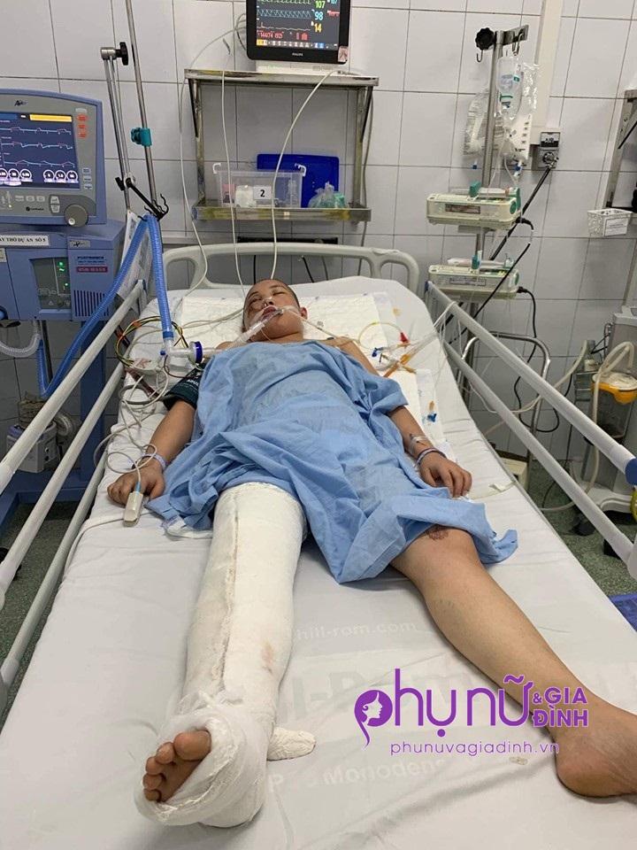 Thảm cảnh nữ sinh viên mồ côi cha bị tai nạn nguy kịch trên đường đi làm thêm về - Ảnh 3