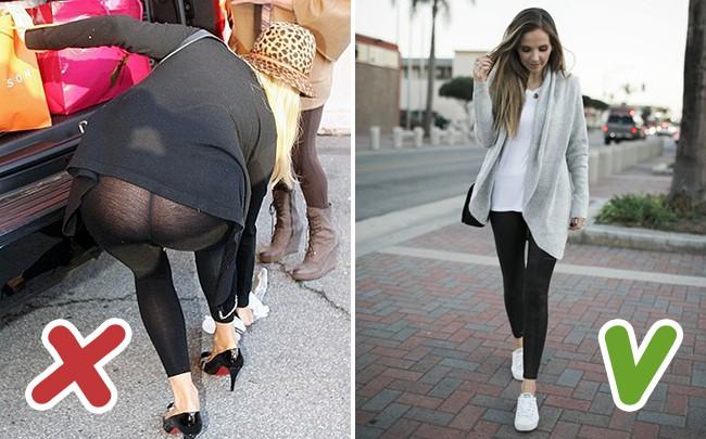 6 lỗi mặc quần legging chị em cần loại ngay nếu không muốn bị kém duyên trong mắt người khác - Ảnh 2