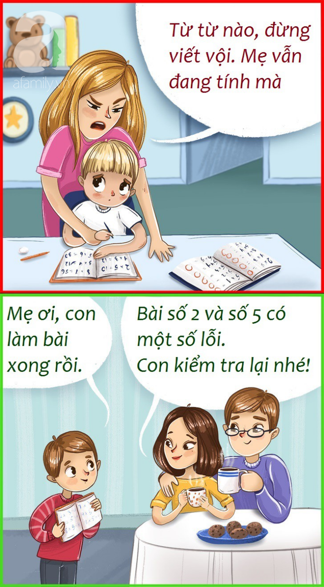 Bí quyết của cha mẹ thông thái giúp con đứng đầu lớp về thành tích học tập: Hướng dẫn thay vì làm hộ - Ảnh 1